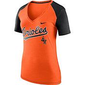 Nike Women's Baltimore Orioles Fan V-Neck Shirt