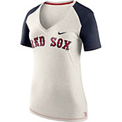 Nike Women's Boston Red Sox Fan V-Neck Shirt