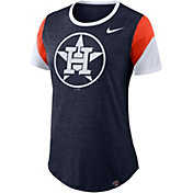 Nike Women's Houston Astros Navy Tri-Blend T-Shirt