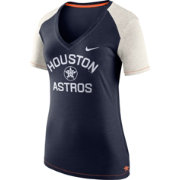 Nike Women's Houston Astros Fan V-Neck Shirt