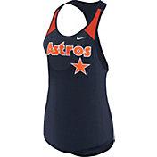 Nike Women's Houston Astros Dri-FIT Wordmark Tank Top