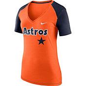 Nike Women's Houston Astros Fan V-Neck Shirt