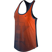 Nike Women's Houston Astros Orange/Navy Tank Top