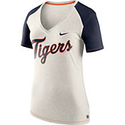 Nike Women's Detroit Tigers Fan V-Neck Shirt