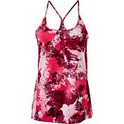 Nike Women's Miler Chalkdust Printed Running Tank Top