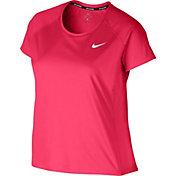 Nike Women's Plus Size Dry Miler Running T-Shirt