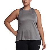 Nike Women's Plus Size Dry Miler Running Tank Top