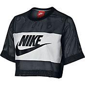 Nike Women's Sportswear Mesh Cropped T-Shirt