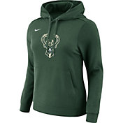 Nike Women's Milwaukee Bucks Green Hoodie