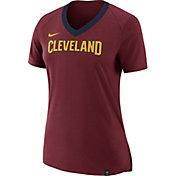 Nike Women's Cleveland Cavaliers Fan V-Neck T-Shirt