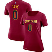 Nike Women's Cleveland Cavaliers Kevin Love #0 Dri-FIT Burgundy T-Shirt