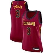 Nike Women's Cleveland Cavaliers Isaiah Thomas #3 Burgundy Dri-FIT Swingman Jersey