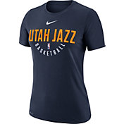 Nike Women's Utah Jazz Dri-FIT Navy Practice T-Shirt