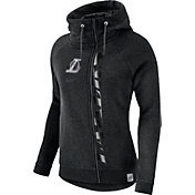 Nike Women's Los Angeles Lakers Black Full-Zip Hoodie