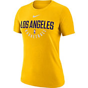 Nike Women's Los Angeles Lakers Dri-FIT Gold Practice T-Shirt