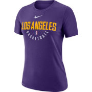 Nike Women's Los Angeles Lakers Dri-FIT Purple Practice T-Shirt
