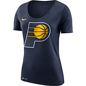 Nike Women's Indiana Pacers Dri-FIT Navy Logo T-Shirt