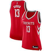 Nike Women's Houston Rockets James Harden #13 Red Dri-FIT Swingman Jersey