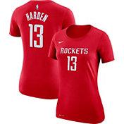 Nike Women's Houston Rockets James Harden #13 Dri-FIT Red T-Shirt