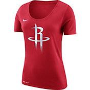 Nike Women's Houston Rockets Dri-FIT Red Logo T-Shirt