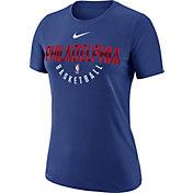 Nike Women's Philadelphia 76ers Dri-FIT Royal Practice T-Shirt