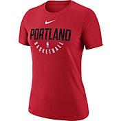 Nike Women's Portland Trail Blazers Dri-FIT Red Practice T-Shirt