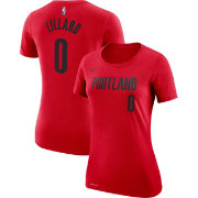 Nike Women's Portland Trail Blazers Damian Lillard #0 Dri-FIT Red T-Shirt