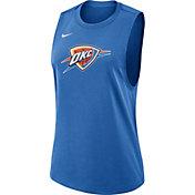 Nike Women's Oklahoma City Thunder Dri-FIT Blue Tank Top