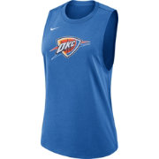 Nike Women's Oklahoma City Thunder Dri-FIT Blue Tank Top