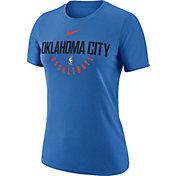 Nike Women's Oklahoma City Thunder Dri-FIT Blue Practice T-Shirt