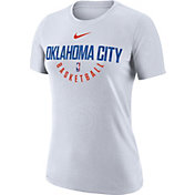 Nike Women's Oklahoma City Thunder Dri-FIT White Practice T-Shirt