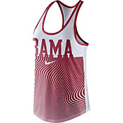 Nike Women's Alabama Crimson Tide Crimson Modern Sport Dri-Fit Dri-Blend Tank Top