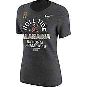 Nike Women's 2017 National Champions Alabama Crimson Tide Territory Celebration Tri-Blend T-Shirt