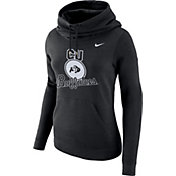 Nike Women's Colorado Buffaloes Black Club Funnel Neck Hoodie