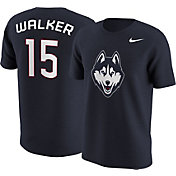 Nike Men's UConn Huskies Kemba Walker #15 Blue Future Star Replica Basketball Jersey T-Shirt