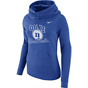 Nike Women's Duke Blue Devils Duke Blue Club Funnel Neck Hoodie