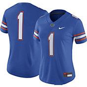 Nike Women's Florida Gators #1 Blue Game Football Jersey