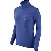 Nike Women's Florida Gators Heathered Blue Element Half-Zip Shirt