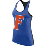 Nike Women's Florida Gators Blue Dri-FIT Touch Tank Top