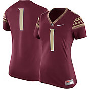 Nike Women's Florida State Seminoles #1 Garnet Game Football Jersey