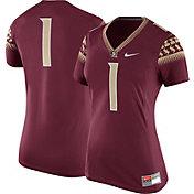 Nike Women's Florida State Seminoles #1 Garnet Game Football Jersey