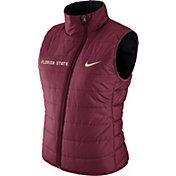 Nike Women's Florida State Seminoles Garnet Reversible Vest