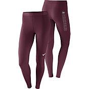 Nike Women's Florida State Seminoles Garnet Pro Tights