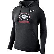 Nike Women's Georgia Bulldogs Club Black Pullover Hoodie