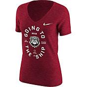Nike Women's Georgia Bulldogs 2018 College Football Playoff National Championship Bound V-Neck Tri-Blend T-Shirt