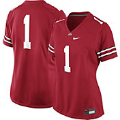 Nike Women's Ohio State Buckeyes #1 Scarlet Football Game Jersey