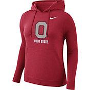 Nike Women's Ohio State Buckeyes Scarlet Club Pullover Hoodie