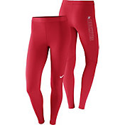 Nike Women's Ohio State Buckeyes Scarlet Pro Tights