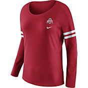 Nike Women's Ohio State Buckeyes Scarlet Tailgate Long Sleeve Shirt