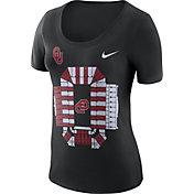 Nike Women's Oklahoma Sooners Local Imagery Football Black T-Shirt